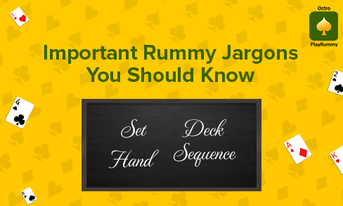 Rummy Terminology and glossaries