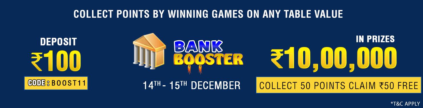 Bank Booster Winner Bonus Contest
