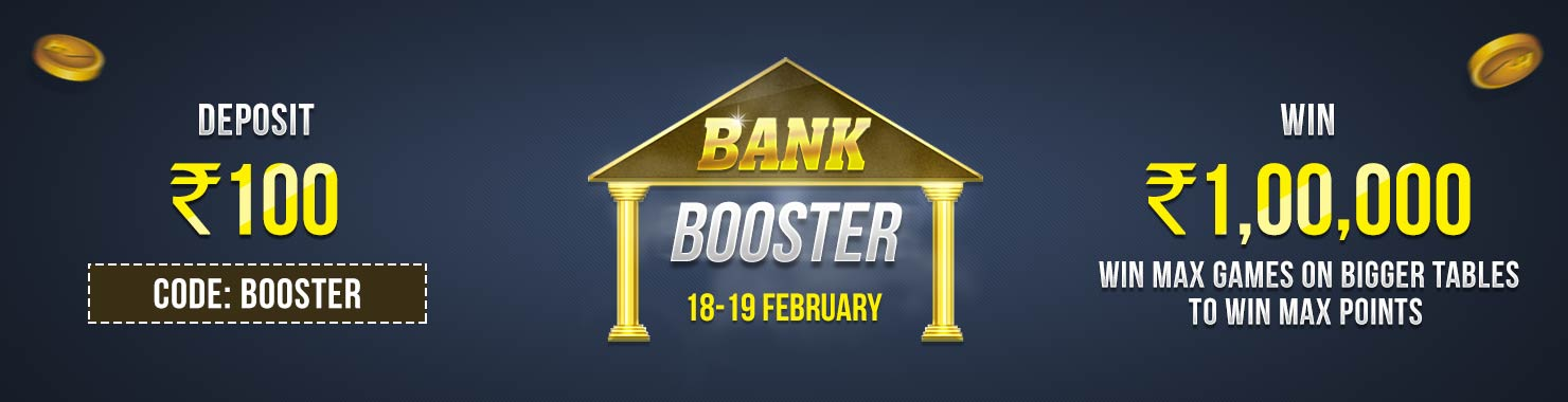 Bank Booster Winner Bonus Contest