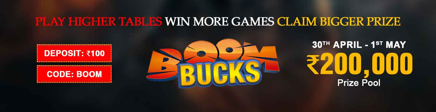Boom Bucks Winner Bonus Contest