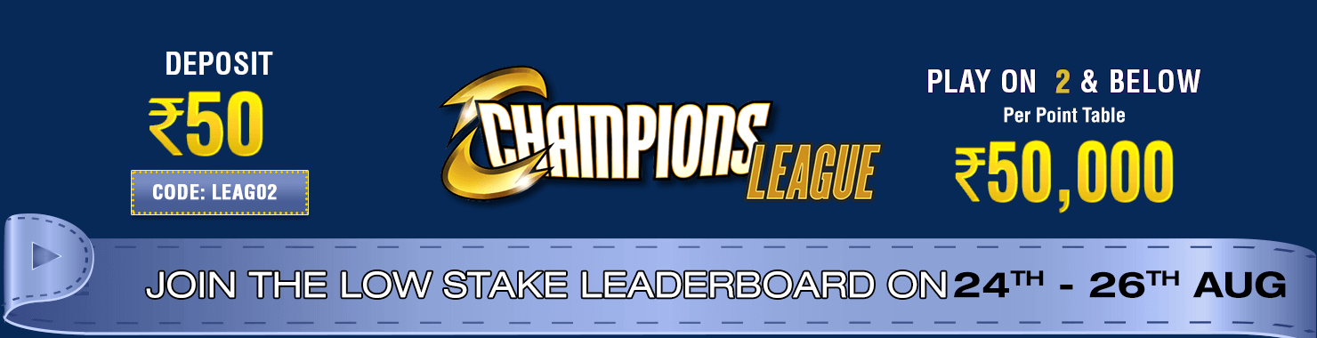 Champions League Leaderboard Contest