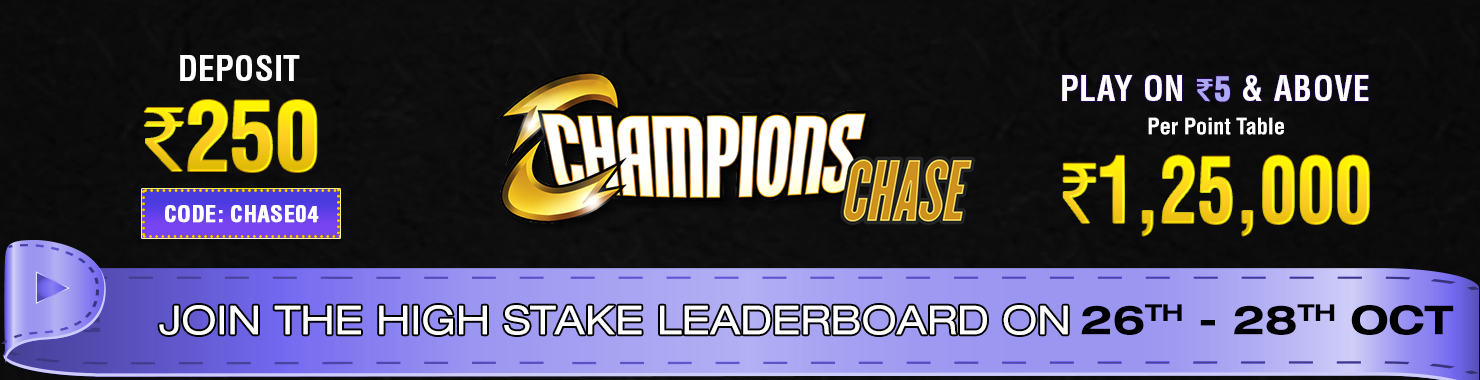 Champions Chase Leaderboard Contest