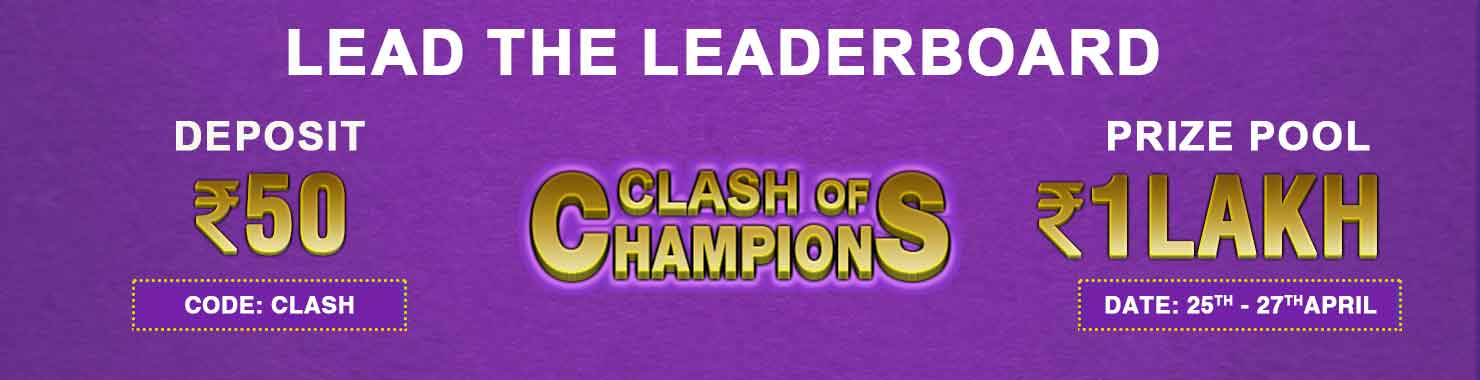 Clash of Champions Leaderboard Contest