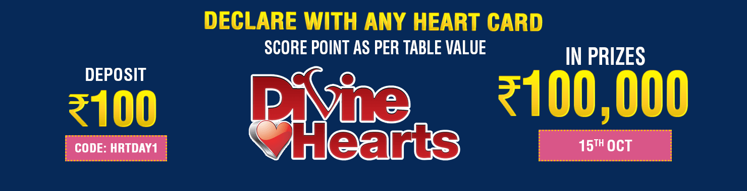 Divine Hearts Leaderboard Contest