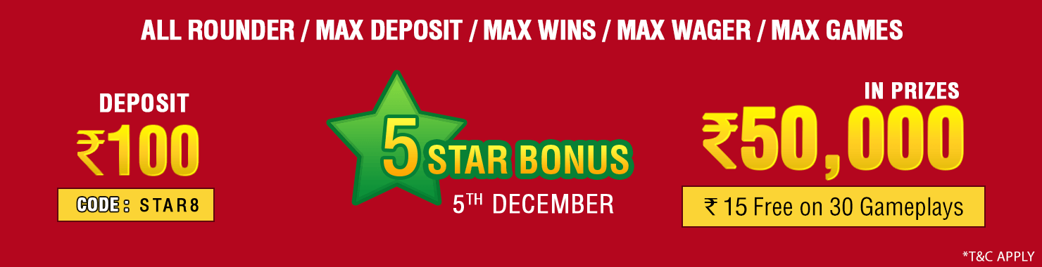 Five Star Winner Contest