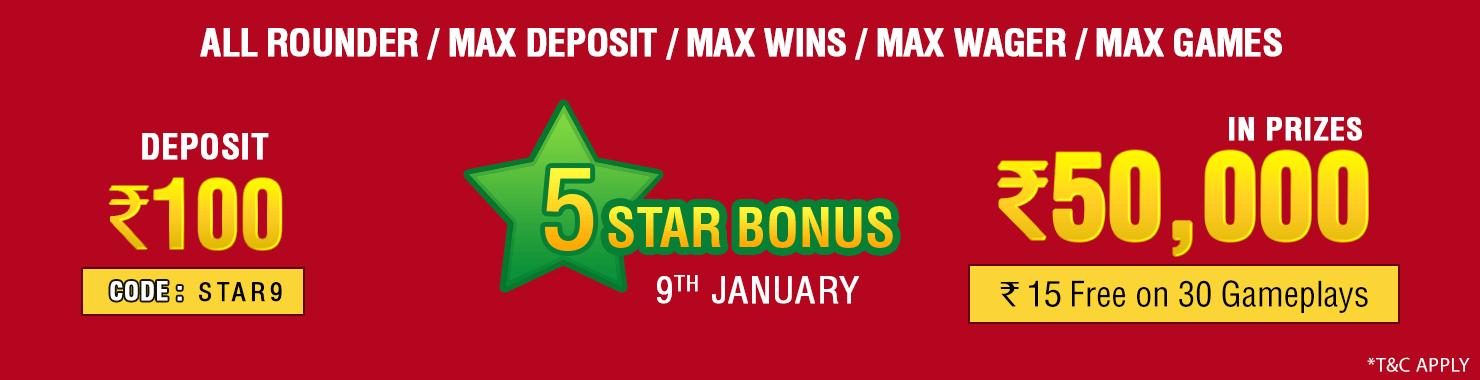 Five Star Winner Contest