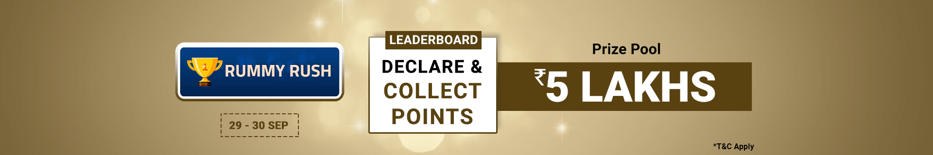 Rummy Leaderboard Contest