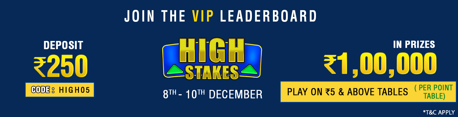 High Stakes Leaderboard Contest