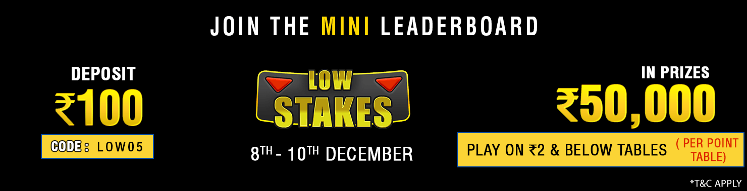 Low Stakes Leaderboard Contest
