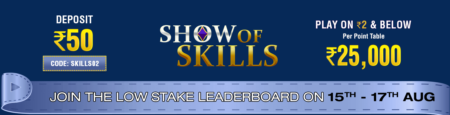 Show of Skills Leaderboard Contest