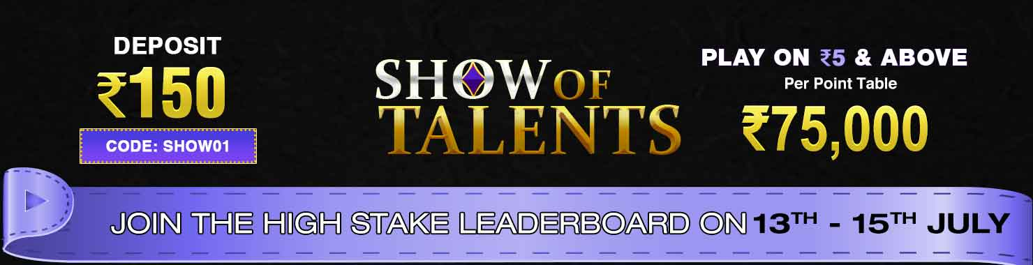 Show of Talents Leaderboard Contest