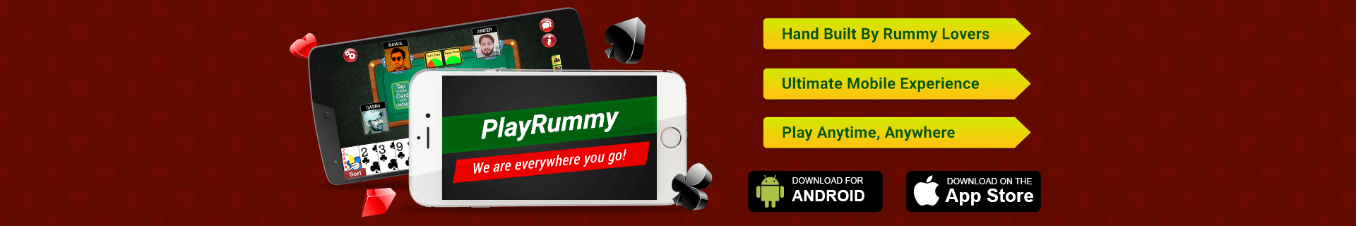 Download PlayRummy App